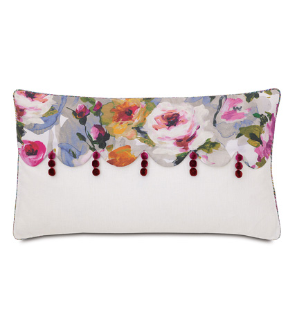 Image of Tresco Bloom Scallops Pillow
