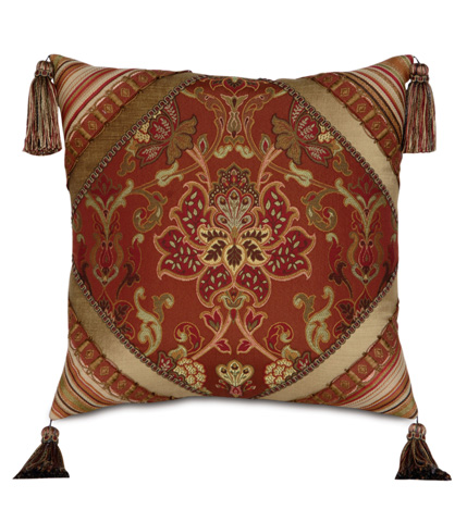 Image of Toulon Diamond Collage Pillow