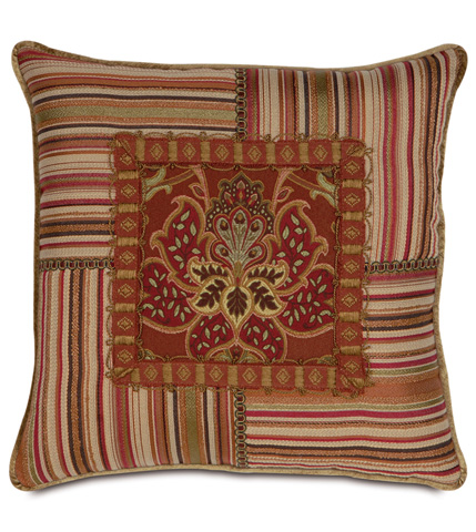 Image of Toulon Collage Pillow with Small Welt