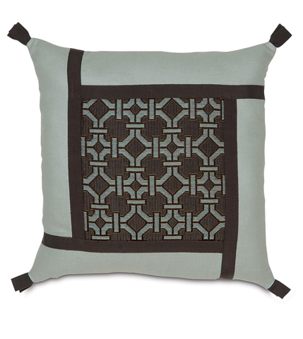 Image of Tonkin Espresso Collage Pillow