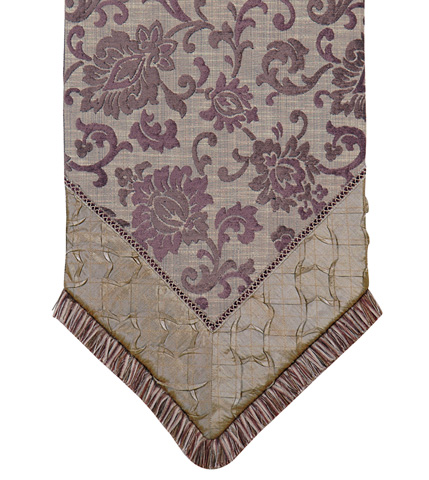 Eastern Accents - Carmo Pewter Ends Runner - TLA-296