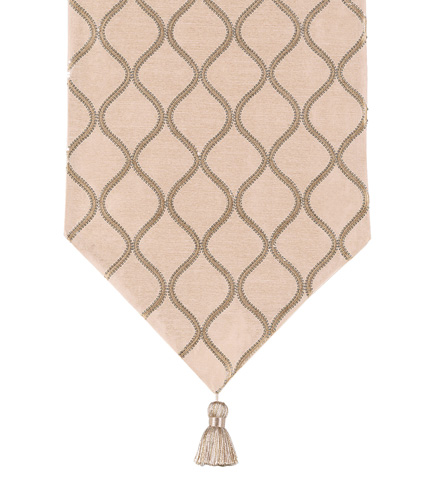 Eastern Accents - Bardot Bisque Table Runner - TLA-349