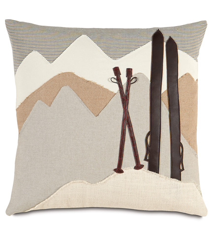 Image of On The Piste Pillow