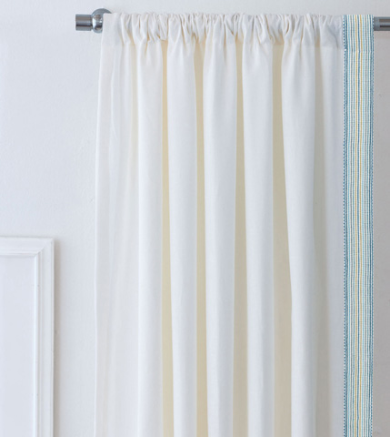 Image of Breeze Shell Left Curtain Panel