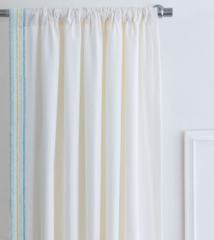 Image of Breeze Shell Right Curtain Panel