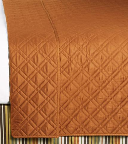 Image of Coperta Brick Queen Coverlet