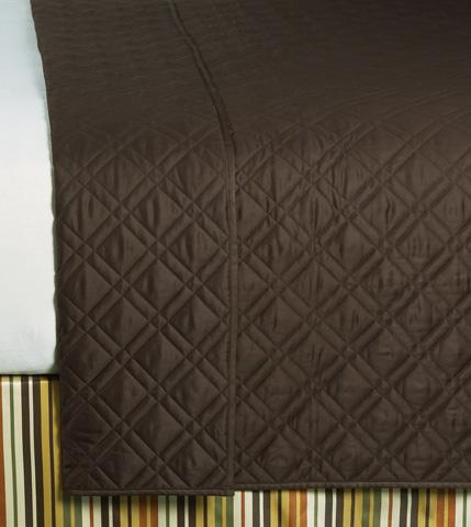 Image of Coperta Chestnut Queen Coverlet