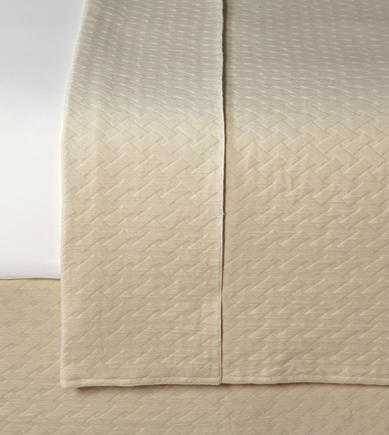 Image of Briseyda Sand Queen Coverlet