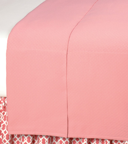 Image of Ballet Blush Queen Coverlet