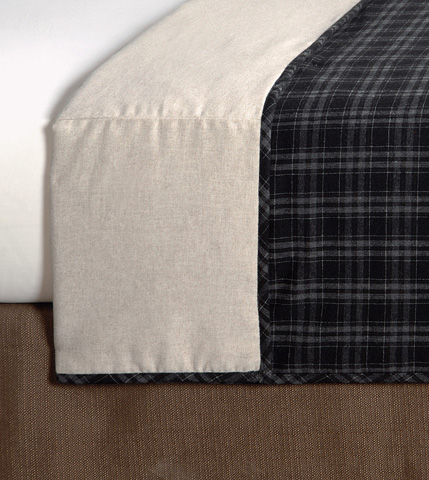 Image of Grainger Ink Queen Coverlet