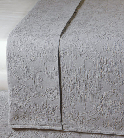 Image of Sandrine Dove Queen Coverlet