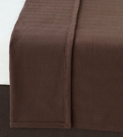 Image of Bozeman Brown Queen Coverlet