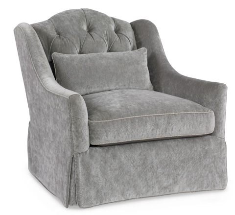 Image of Randall Tysinger Bordeaux Tufted Chair