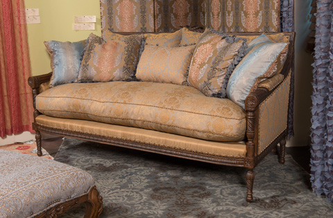 Image of Berber Kammlah Louis Gubba Sofa