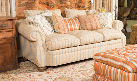 Image of Berber Kammlah Mr. Tally's Davenport Sofa