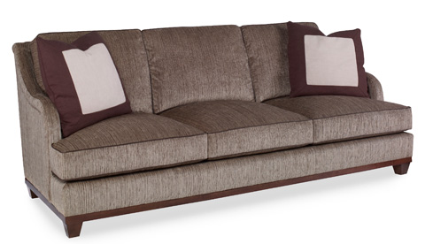Image of Allison Paladino Robbie Sofa with Straight Back