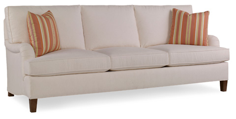EJ Victor - English Arm Three Seat Sofa - 574-88