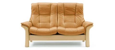 Image of Stressless Buckingham High Back Loveseat