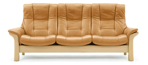 Ekornes - Stressless Buckingham High Back Sofa - 1185030