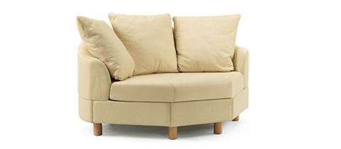 Ekornes - Stressless Wave Low Back Corner Chair - 1125055