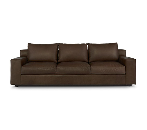 Elite Leather Company - Barrett Three Over Three Sofa - 22040-80