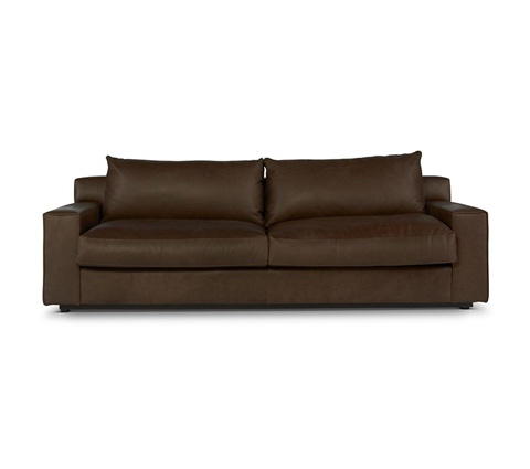 Elite Leather Company - Barrett Two Over Two Sofa - 22060-80