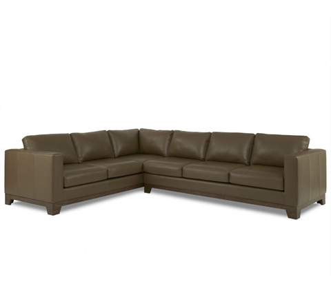 Elite Leather Company - Dylan Sectional - 20015RS-79/20015AR-79