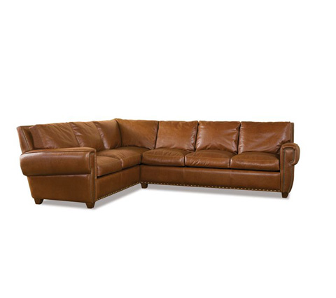 Elite Leather Company - Denver Sectional - 30036LS-73/30036AR-72