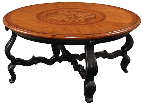 Emerson Bentley - Palermo Cocktail Table with Floral Motif - 10117