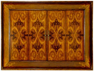 Emerson Bentley - Wall Mounted Plasma TV Cabinet - 27038