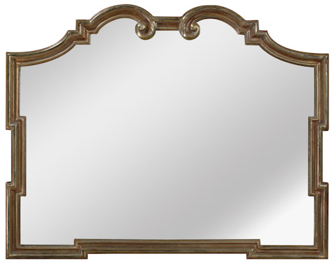 Emerson Bentley - Ornate Gold Landscape Mirror - 28014