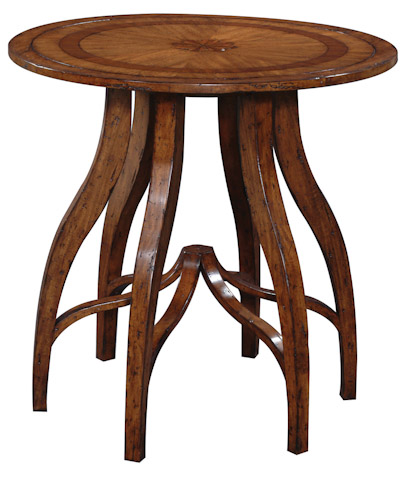 Emerson Bentley - Santiago Table with Embossed Medallion - 29007