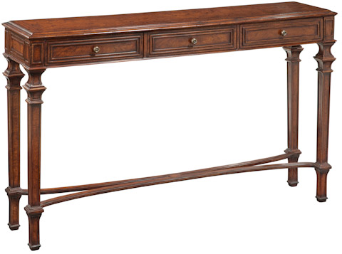 Emerson Bentley - Burled Console Table - 12029