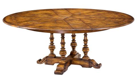 Encore - Oak Jupe Dining Table Medium Aged Oak - 78-49
