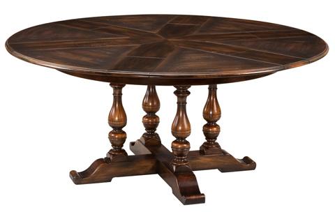 Encore - Walnut Jupe Dining Table Large Ebony - 78-71