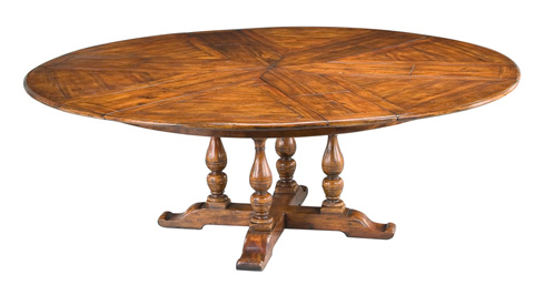 Encore - Walnut Jupe Dining Table Ex-Large - 78-75