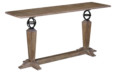 Image of Two Spheres Console Table
