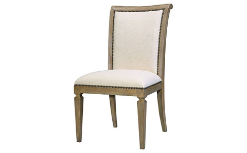 Image of Scroll Back Dining Side Chair