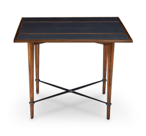 Image of Mayfair Card Table in Dark Walnut