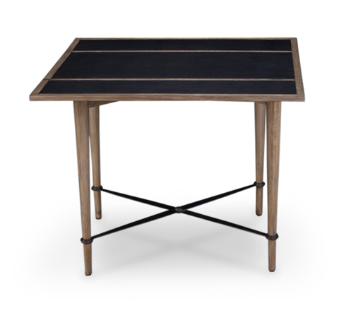 Image of Mayfair Card Table with Leather Top