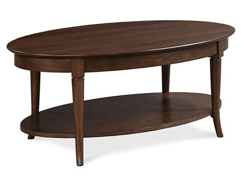 Fairfield Chair Co. - Oval Cocktail Table - 4177-46