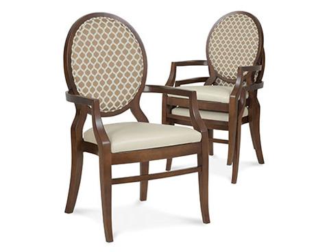 Fairfield Chair Co. - Arm Stack Chair - 8783-11