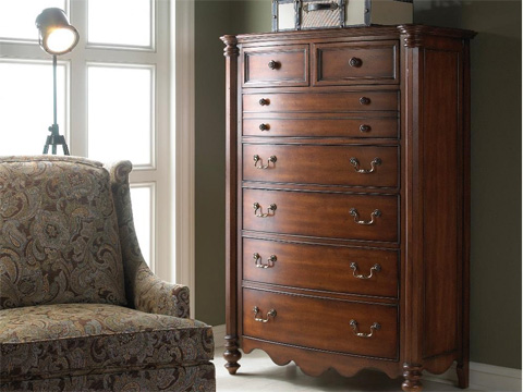 Fine Furniture Design & Marketing - Seven Drawer Chest - 1050-110