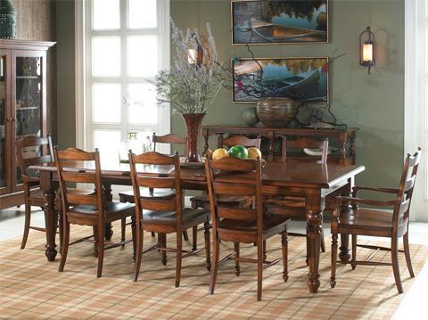 Fine Furniture Design & Marketing - Rectangular Dining Table - 1050-818