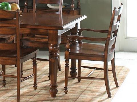 Fine Furniture Design & Marketing - Ladder Back Arm Chair - 1050-827