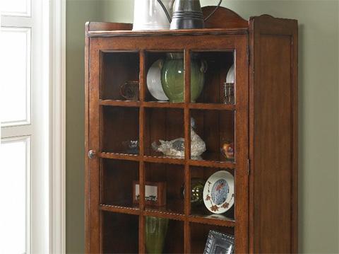 Fine Furniture Design & Marketing - Accent Cabinet with Glass Door - 1050-995