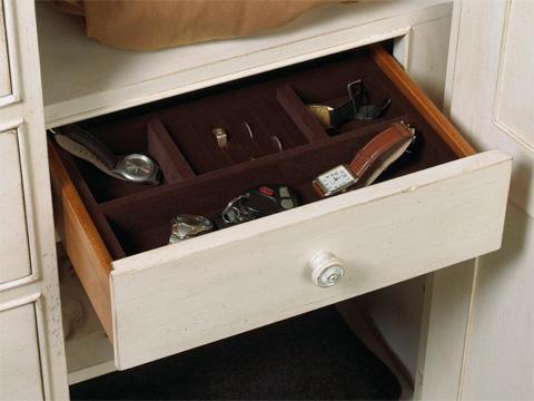 Fine Furniture Design & Marketing - Door Chest with Drawers - 1051-120