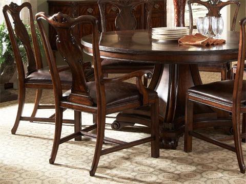 Fine Furniture Design - Splat Back Arm Chair - 1110-827L