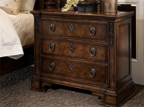 Image of Night Chest with Three Drawers