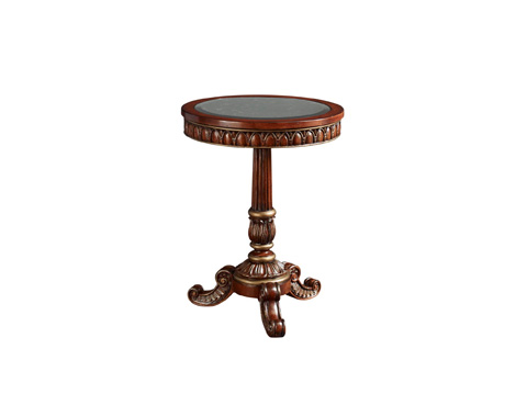 Fine Furniture Design - Side Table with Antique Mirror Inset - 1160-979